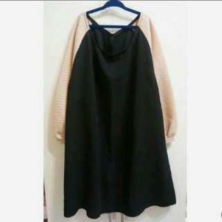 🚚 全新 韓版鏤空花紋造型洋裝