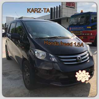 HONDA FREED 1.5G A! Promo Now! Petrol Saver Proven! 18% off petrol Card! Lowest Price! Can Drive For Grab/RydeX/Go-Jek/Jugnoo! Flexible Rental Scheme! Personal User! Call Now!