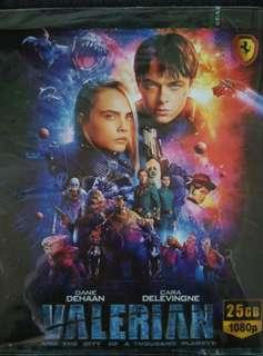 Valerian Blu-ray movie
