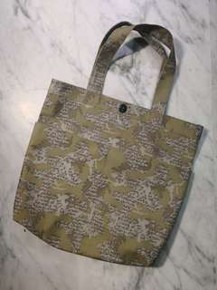 Stussy water proof camo Tote Bag
