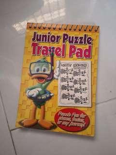 Junior Puzzle Travel Pad