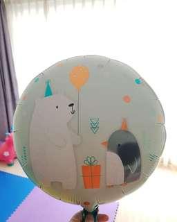 Balon foil helium
