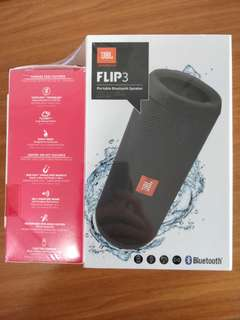 Jbl Flip 3 with yurbuds
