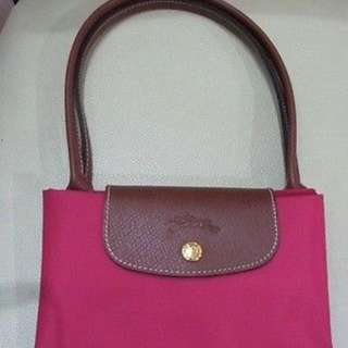 LONGCHAMP NEO PLIAGE SMALL LONG HANDLE SHOULDER BAG PINK BRAND NEW AUTHENTIC