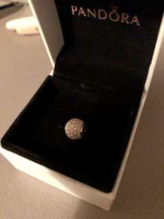 "Pandora Authentic 14k Gold Essence charm ""Hope"""