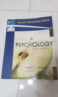 Psychology - Core Concepts