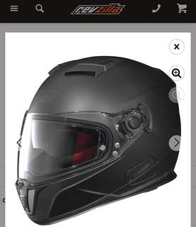 Nolan N86 Helmet Matt Black Full Face Helmet-Size M