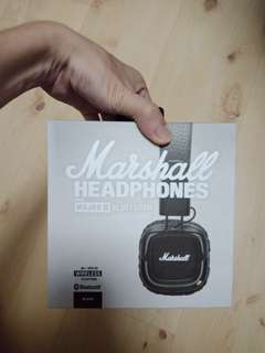 Marshall Bluetooth Headphones (BNIB)