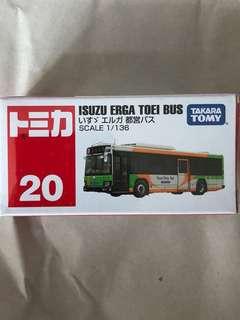 Tomica 車仔 日本版20 巴士