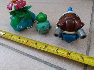 絕版寵物小精靈玩具擺設3個 *自行出價*