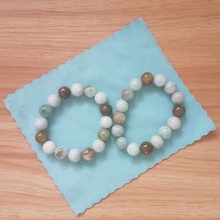 Natural Jadeite bracelet (12mm)