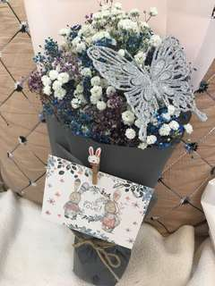 Whimsical Baby Breath Bouquet(30cm)