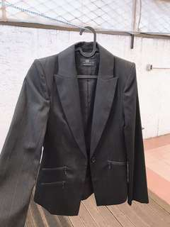 Cue Jacket Size 6 (Fabric Made in Italy)