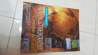 Advanced Geography - Concepts and Cases