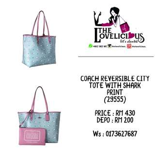 Coach city tote 29555