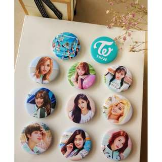 Twice Badge-Price Reduced with free gift