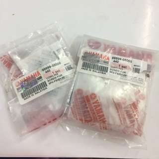 yamaha rxz skru original (cowling screw set)