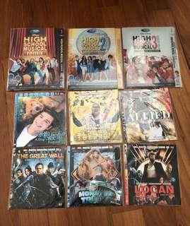DVD 📀clearance (each for $4)