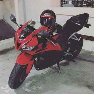 Honda CBR600rr 09