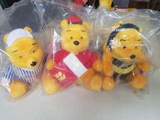 Pooh Bear Soft Toys from MacDonald
