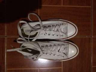 Repriced! Converse white sneakers