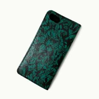 iphone 7 8 真皮電話殼 迷彩手機套 camouflage leather phone case cover