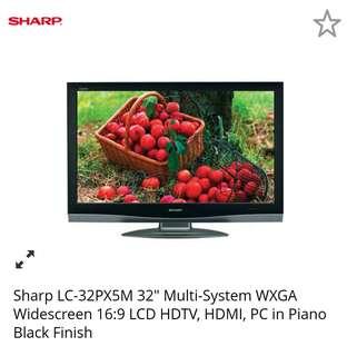 32 sharp Aquos TV
