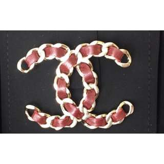 Authentic Chanel CC Large Brooch