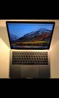 "MacBook Pro 13"" MPXQ2 2017 Space Grey RAM8/SSD128/Core i5"