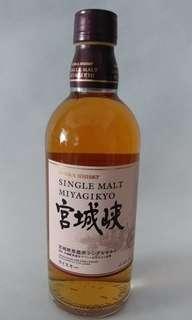 購自日本 宮城峽 whisky (500ml)