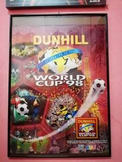 Dunhill World Cup 98 Frame Poster