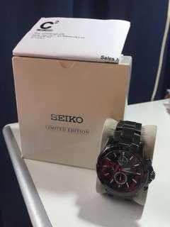 SEIKO黑鋼限量版 全球限量2500隻