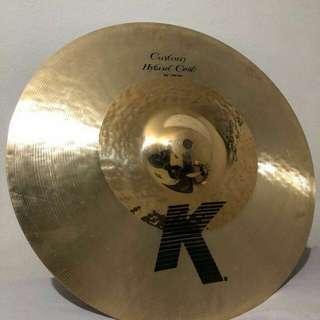 Zildjian K custom Hybrid Crash cymbal 16 inch