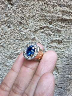 Batu cincin natural king safir