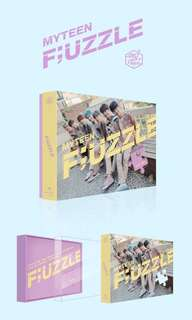 PRE-ORDER MYTEEN 2ND MINI ALBUM - F;UZZLE