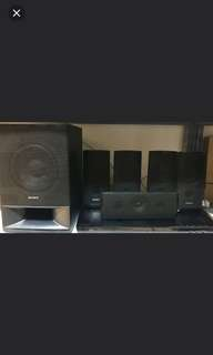 (TGN) Sony 5.1 Home Theatre System.