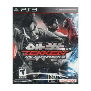 Ps3 Tekken Tags 2