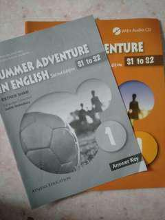 Summer Adventure in English 1( Second Edition)(S1-S2)+Answer Key(答案)