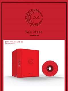 PRE-ORDER MAMAMOO 7TH MINI ALBUM - RED MOON