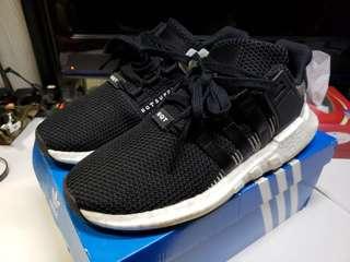 100% 原裝正貨 Adidas EQT Support 93/17 Boost 黑白色