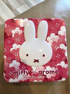 Arome Miffy Tin Box