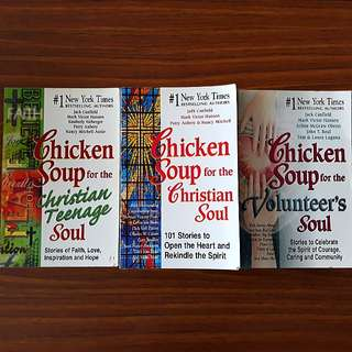 2 for $15: Chicken Soup for the Christian Soul, Chicken Soup for the Christian Teenage Soul