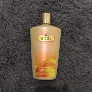Amber Romance Victoria Secret Body Lotion