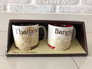 Starbucks display cup collectables (Bangkok)