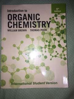 Organic Chemistry by Brown&Poon