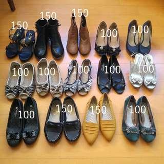 🚚 平底鞋高跟鞋短靴休閒鞋 23.5 / 37