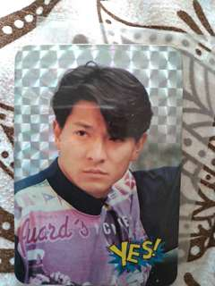 劉德華yes閃card