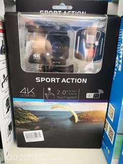 Action Camera 4k wifi touchscreen