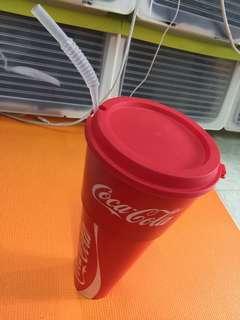 (收藏)可口可樂 杯碗二合一 (長身)