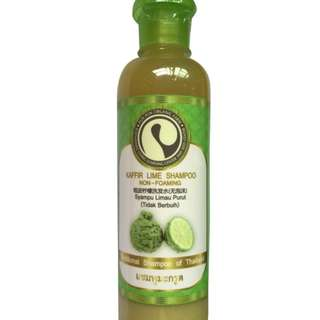 ORGANIC KAFFIR LIME SHAMPOO NON-FOAMING 375ml